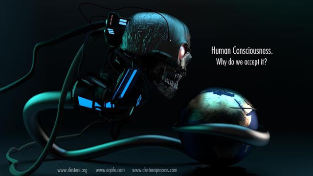 human consciousness monster - DamianLedesma
